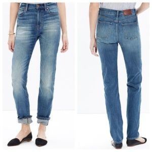 Madewell The Perfect Fall Jean in Vance Wash 24